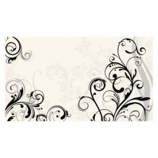 RoomMates Scroll Chair Rail Mural   Wallpaper