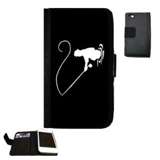 Fly Fishing fisherman Fabric iPhone 5 Wallet Case Great Gift Idea Cell Phones & Accessories