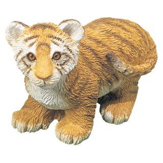 Sandicast Small Size Tiger Cub Sculpture   Garden Statues