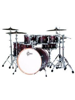Gretsch Catalina Maple Six Piece Drum Set with 18 Inch Bass Drum   Mocha Fade Musical Instruments