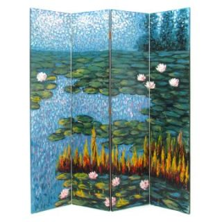 Wayborn 2206 Lotus Pond Screen Room Divider   Room Dividers
