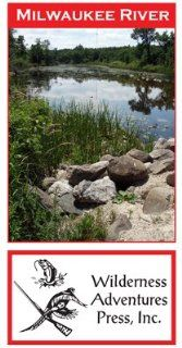 Milwaukee River 11x17 Fly Fishing Map  Outdoor Recreation Topographic Maps  Sports & Outdoors