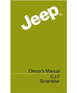 1984 Jeep Cj & Scrambler Owners Manual User Guide Reference Operator Book Fuses Automotive