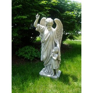 Guardian Angel Child's Prayer Garden Statue   Garden Statues