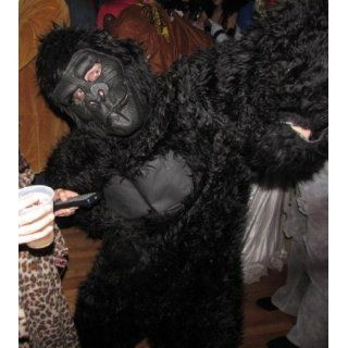 California Costumes Men's Adult Gorilla, Black, Standard Costume: Clothing