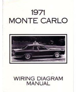 1971 CHEVROLET MONTE CARLO Wiring Diagrams Schematics: Automotive
