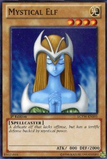 Yu Gi Oh   Mystical Elf (LCYW EN005)   Legendary Collection 3 Yugi's World   Limited Edition   Common Toys & Games