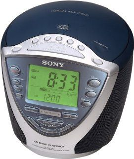 Sony Dream Machine ICF CD843V CD Clock Radio with Digital Tuner (Discontinued by Manufacturer) Electronics