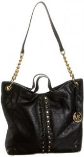 MICHAEL Michael Kors Uptown Astor Large Tote, Black, one size Tote Handbags Shoes