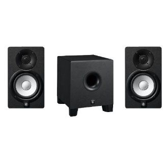 Yamaha HS5 and HS8S Studio Monitor Speaker System Musical Instruments