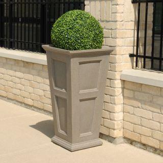 NOVO Oxford Commercial Grade 40 in. Tall Planter Set
