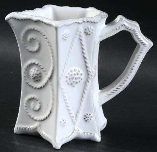 Juliska Ceramics Jardins Du Monde Mini Pitcher, Fine China Dinnerware: Kitchen & Dining