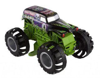 Toy / Game Popular Hot Wheels Biggest and Baddest Monster Jam Grave Digger Truck Ultimate Stunt Jumper Toys & Games