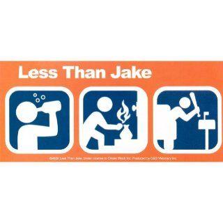 Less Than Jake   Symbols Decal Automotive