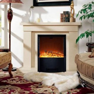 HomCom 18 in. Electric Fireplace Insert   Electric Inserts