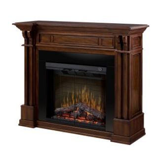 Dimplex Kendal Electric Fireplace   Burnished Walnut   Electric Fireplaces