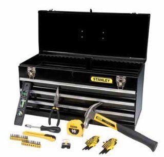 Stanley 44 Piece Tool Set & Metal Tool Box (94 843SBK)