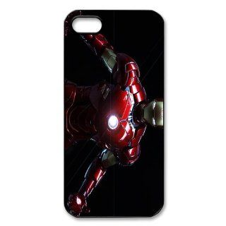 Custom Iron man Cover Case for iPhone 5/5s WIP 3115: Cell Phones & Accessories