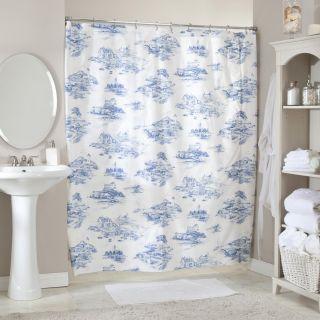 Coastal Blue Shower Curtain   Shower Curtains