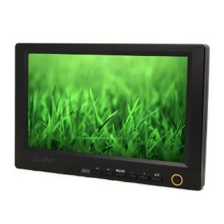Professional LILLIPUT 8'' 869GL 80NP/C/T Camera Monitor With Touch Screen Function / HDMI, PC (VGA), AV1, AV2, DVI Input / Color TFT LCD Monitor / With Drive CD + Mini Stand Base + Touch Screen Pen + HDMI Cable: Everything Else