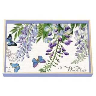 Michel Design Works Wisteria Wooden Decoupage Tray : Decorative Trays : Everything Else