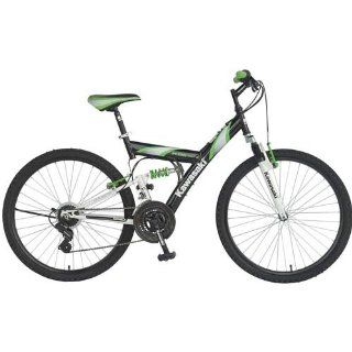 KDX126FS Men's Dual Suspension 21 Speed Mountain Bike Frame Color: Black : Dual Suspension Mountain Bicycles : Sports & Outdoors