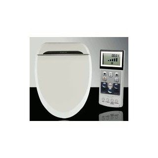 Coco Bidet 6035R Elongated Electronic Toilet Seat Remote Control Heated Seat Air Dry & Deodorizer   Health And Personal Care