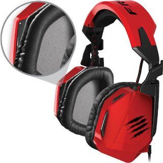 Mad Catz F.R.E.Q.4D Stereo Headset for PC, Mac, and Smart Devices: Computers & Accessories