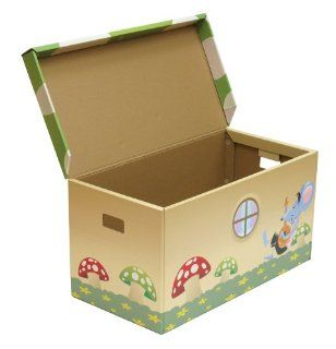 cardboard storage trunk childrens storage furniture