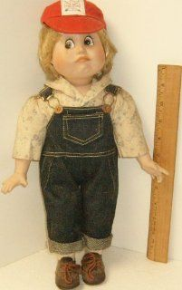 Hello Dolly 1990 Albert E. Price porcelain collectible doll