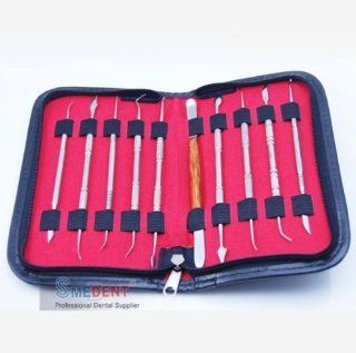 Dental Lab Equipment Dental Kit Wax Carving Tool Set: Health & Personal Care