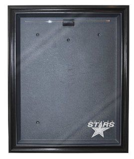 NHL Dallas Stars Cabinet Style Jersey Display, Black  Sports Related Display Cases  Sports & Outdoors