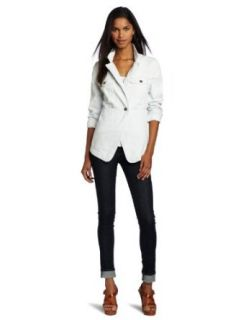 Diesel Women's Dulhar Blazer, Pale Blue Denim, Large at  Women�s Clothing store: Blazers And Sports Jackets