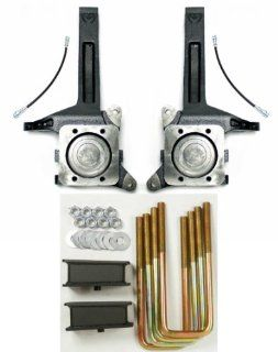 "Toyota Tundra 2 Wheel Drive Lift Kit 3.5 inch Spindle and 2"" Fabricated Steel Blocks: Automotive"