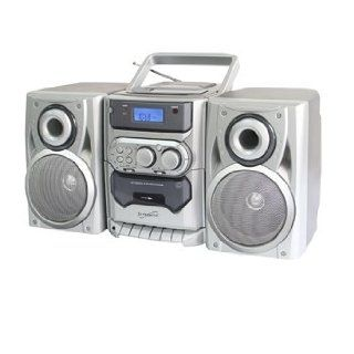 Supersonic SC 903CD AM/FM Stereo Cassette Recorder and CD Player + Remote Control Electronics