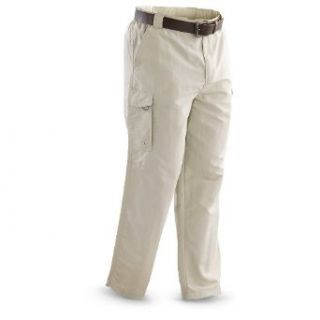 Guide Gear Ridge Rock Pants, STONE, 2XL SHORT Clothing