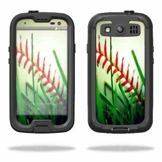 MightySkins Protective Vinyl Skin Decal Cover for LifeProof Samsung Galaxy S III S3 Case fre Sticker Skins Softball: Cell Phones & Accessories