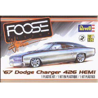 Revell '67 Dodge Charger 426 Hemi Plastic Model Kit Toys & Games