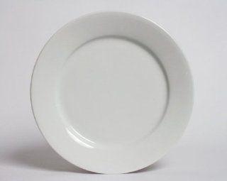 Tuxton White Dinner Plate. Rolled Edge, Wide Rim. Restaurant Grade. Quantity 12. 10 1/4 Inch. ALA 102. Kitchen & Dining