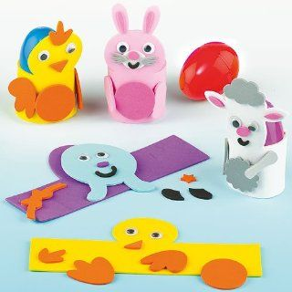 Easter Egg Cup Kits (Pack of 4) Toys & Games