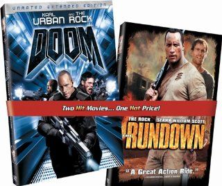 Doom/The Rundown Dwayne Johnson, Seann William Scott, Christopher Walken, Rosario Dawson, Karl Urban, Rosamund Pike, Ewen Bremner, Jon Gries, William Lucking, Ernie Reyes Jr., Stuart F. Wilson, Dennis Keiffer, Andrzej Bartkowiak, Peter Berg, Alan Beattie,