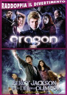 eragon + percy jackson e gli dei dell'olimpo (2 dvd) box set dvd Italian Import: jeremy irons, pierce brosnan, chris columbus: Movies & TV