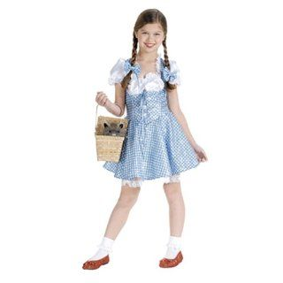 Girls Sequin Dorothy Costume   Wizard of Oz   Large Toys & Games