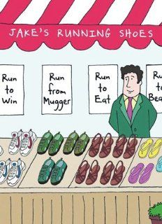 Funny Birthday Card for Runners   Jake's Running: Sports & Outdoors