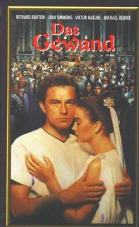 The Robe [VHS]: Richard Burton, Jean Simmons, Victor Mature, Michael Rennie, Jay Robinson, Dean Jagger, Torin Thatcher, Richard Boone, Betta St. John, Jeff Morrow, Ernest Thesiger, Dawn Addams, Leon Shamroy, Henry Koster, Barbara McLean, Frank Ross, Albert