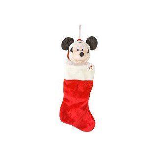 "Disney Mickey Mouse Plush Head 18"" Musical Christmas Stocking Toys & Games"