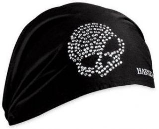 Harley Davidson Women's Crystal Skull Headwrap. 99453 10VW at  Women�s Clothing store: Apparel Accessories