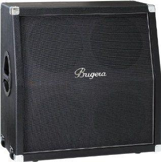 Bugera 412H BK 200W 4x12 Guitar Speaker Cabinet Black 886830857669 Musical Instruments