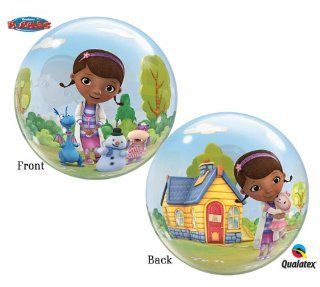 "Doc Mcstuffins 22"" Single Bubble 01 Count: Toys & Games"
