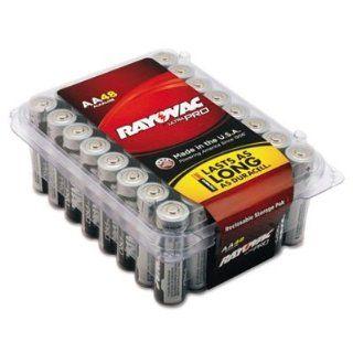 Ultra Pro Alkaline Batteries, Aa, 48/Pack